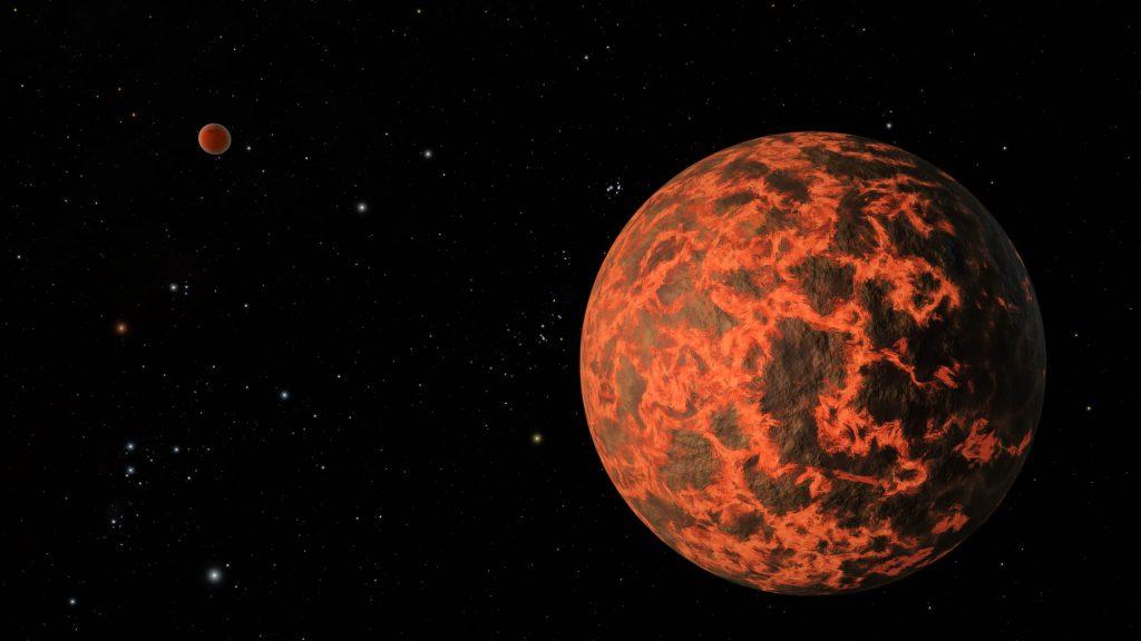 Magma World: Artist's impression of UCF-1.01